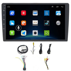 10.1 Inch Android 8.1 Car Bluetooth Wifi Gps Navigation Quad-Core Radio Video Audio Multimedia Mp5 Player