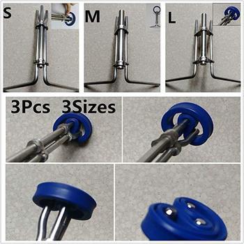 GloryStar 3pcs/set Hydraulic Cylinder Piston Rod Seal Up U-cup Installation Tool клей u seal 207 набор