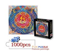 New Arrival 1000 Pieces Jigsaw Puzzles Painting DIY Creativity Imagine Art Toys For Kids Develop Patience Focus Reduce Pressure