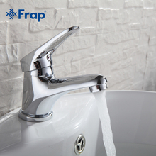 Faucet Brass Sink Water-Tap-Mixer Bathroom Basin FRAP Mini Vessel Stylish F1013 Chrome-Finish
