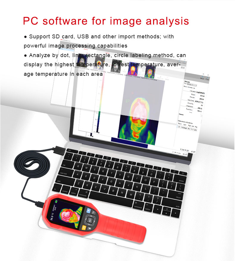 Mini Infrared Thermal Imaging Camera With Type-C USB Interface for Lithium Battery Charging 30