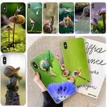 LJHYDFCNB snails Customer High Quality Phone Case For iphone 6 6s plus 7 8 plus X XS XR XS MAX 11 11 pro 11 Pro Max Cover baweite gintama anime customer high quality phone case for iphone 6 6s plus 7 8 plus x xs xr xs max 11 11 pro 11 pro max cover