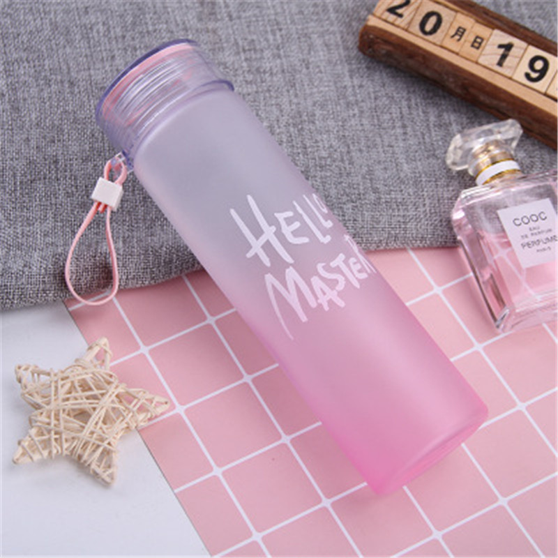 520ml BPA Free Leak Proof Sports Water Bottle High Quality Tour Hiking Portable Bottles