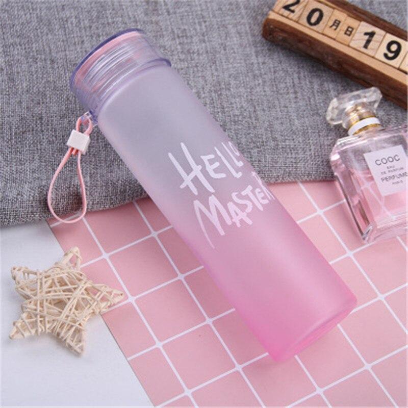 520ml BPA Free sızdırmaz spor su şişesi yüksek kaliteli tur yürüyüş taşınabilir şişeler