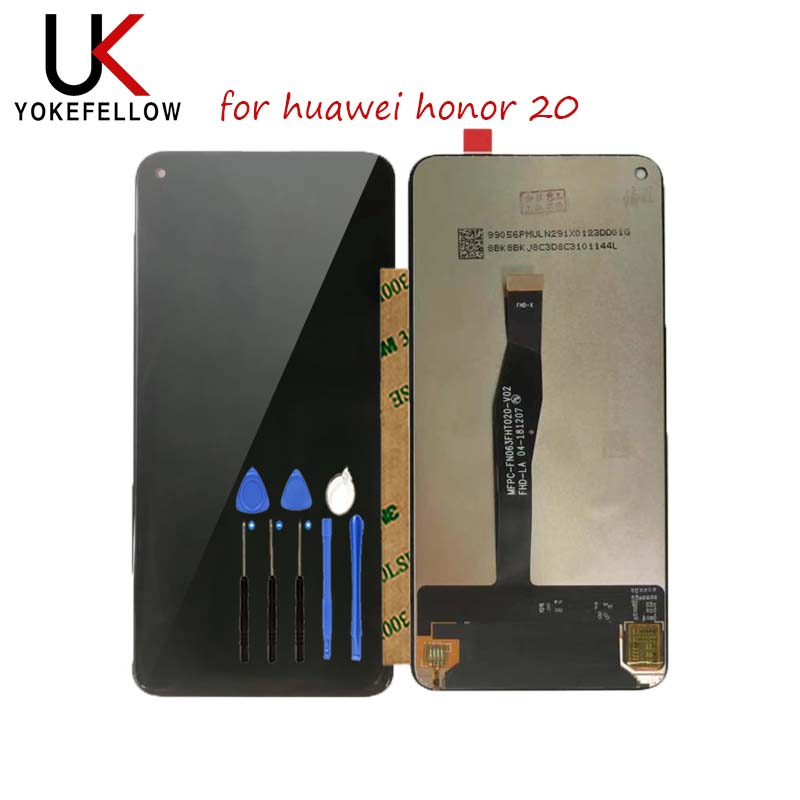 LCD Display For Huawei Honor 20 Pro LCD Display Touch Screen for Honor 20 LCD Screen nova 5T LCD