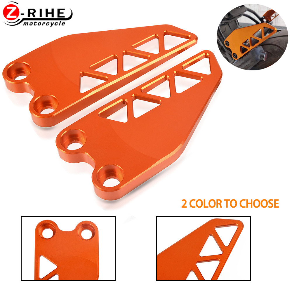 Motorcycle Aluminum Accessories Rear Heel Protective Cover Guard Foot Flank Moto Parts FOR KTM DUKE 125 125DUEK 2017 2018 2019 image