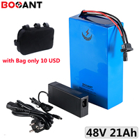 13S 48V 20Ah 1000W electric bike battery pack 18650 cell 48V 18Ah 15Ah 13Ah 10Ah 250W 500W 750W ebike lithium ion battery
