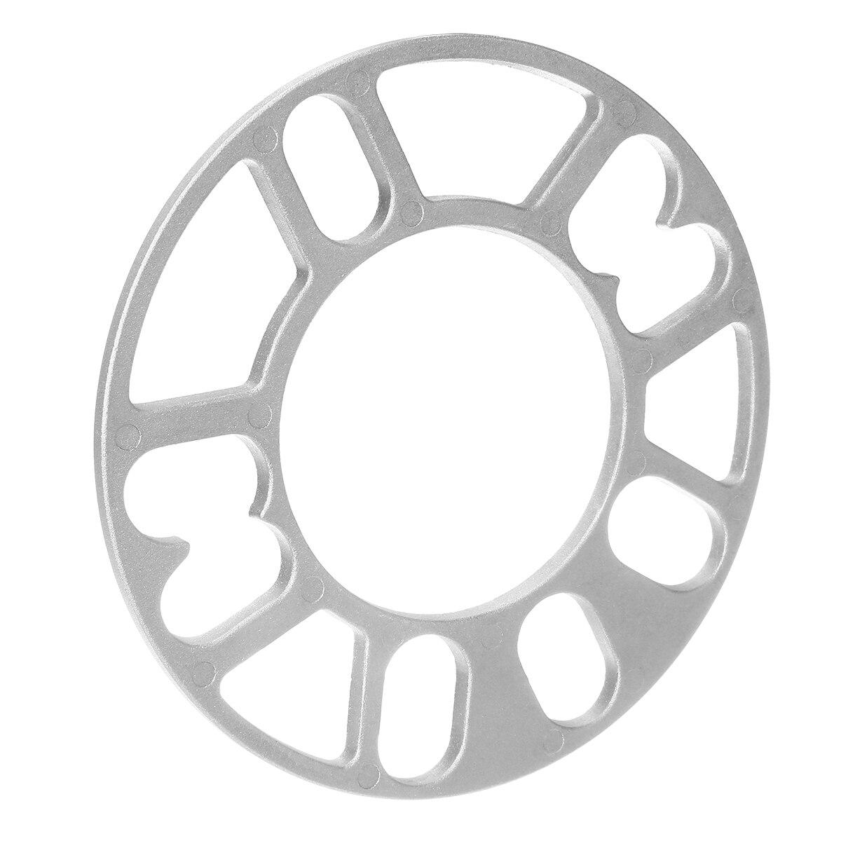 Aleación Rueda Espaciadores 2x 3 mm cuñas Espaciador Ajuste Universal De 4 y 5 Stud