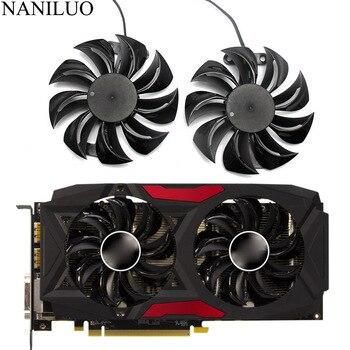 GA91S2U PowerColor Red Devil RX580 GPU кулер охлаждающий вентилятор для Radeon Red Dragon AX RX 480 470 580 видеокарт в качестве замены вентилятора