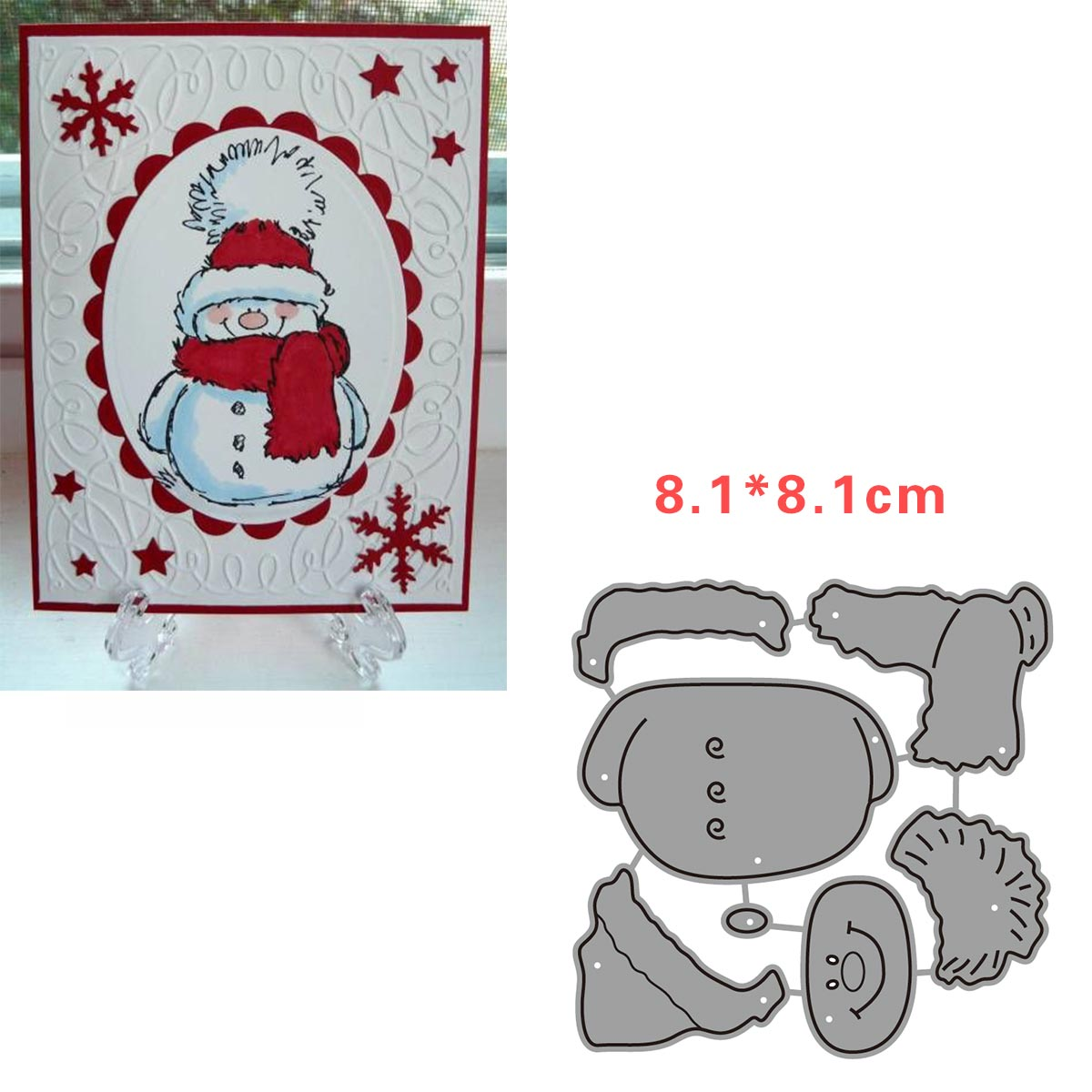 Snowman Christmas Accessories Alinacrafts Metal Cutting Dies Scrapbooking Dies Cut For Card Making Snow Decoration 2019 New Dies