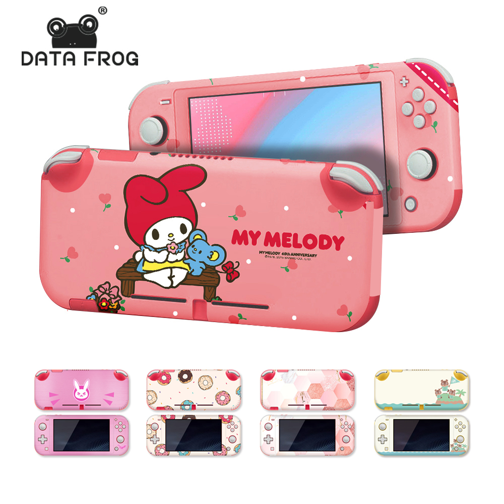 Data Frog Full Cover Protective Sticker For Nintend Switch Lite Controller Cover Decal Skin Stickers For Nintendo Switch Lite