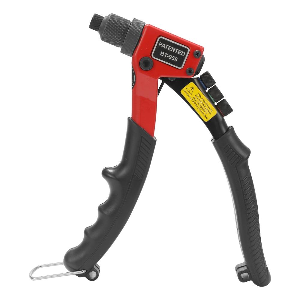 8 In Labor-saving Hand Riveter BT-603 Manual Rivet Machine 200mm Single Hand Blind Riveter Riveting Tools