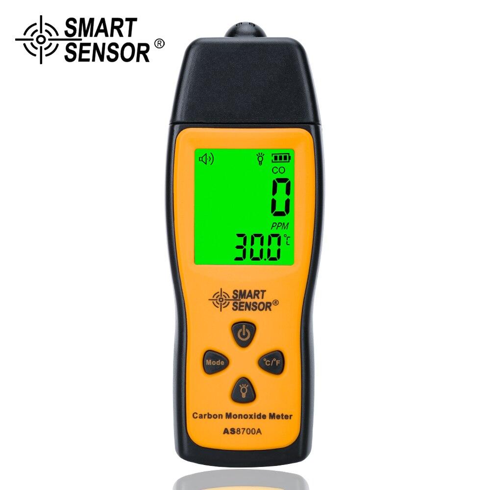 Analyseur de gaz portatif de détecteur de fuite de gaz de CO de monoxyde de carbone tenu dans la main testeur de moniteur de gaz de détecteur de haute précision 1000ppm