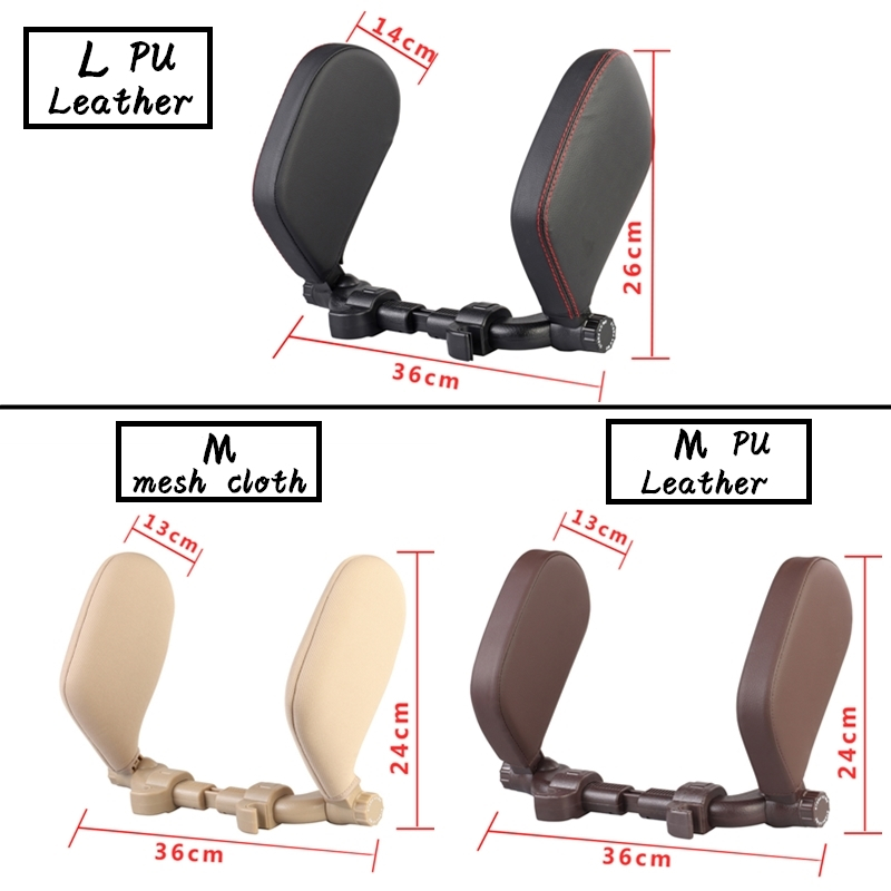 Car Seat Headrest Pillow Travel Rest Neck Pillow Support Solution For Kids Pillow And Adults Auto Seat Head Cushion Car Pillow 2