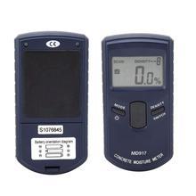 Высококачественный цифровой конcreter настенный измеритель влажности MD917 0-40% Метопа тестер влажности гипсокартон тестер влажности без батареи