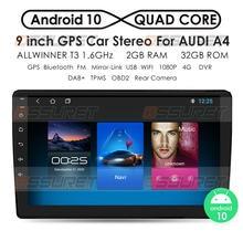 Android 10 DSP CarPlay autoradio multimédia lecteur vidéo Auto stéréo GPS pour Audi A4 B6 2000-2009 S4 RS4 2 din dvd 4G WIFI 2 + 32