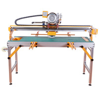 45 Degree Chamfer Automatic Multifunctional Marble Stone Ceramic Tile Cutting Machine Desktop Electric Floor Tile Cutter 1200mm
