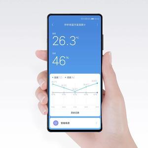 Image 3 - 2020 mmc bluetooth compatível higrômetro e ink tela bt2.0 inteligente temperatura umidade sensor miaomiaoce funciona para mijia app