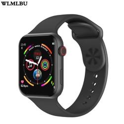 Reloj inteligente F10 pantalla táctil con frecuencia cardíaca presión arterial seguimiento deportivo Fitness para Apple IOS Android PK ibuo 8 9 10 W34