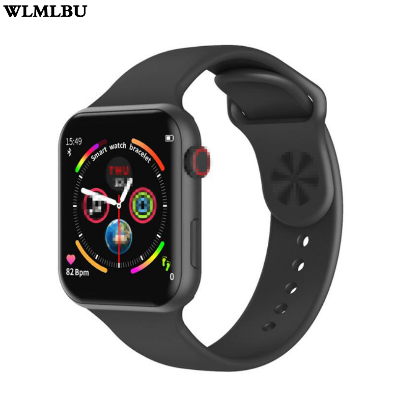 Smart Watch F10 Full Touch Screen Heart Rate Blood Pressure Sports Tracker Fitness For Apple IOS Android PK Iwo 8 9 10 W34 image
