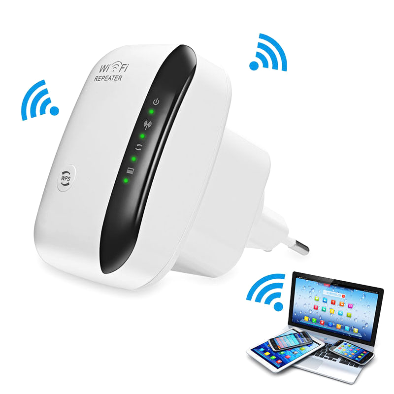 WiFi Range Extender Super Booster 300Mbps Superboost Boost Speed Wireless WiFi Repeater VH99