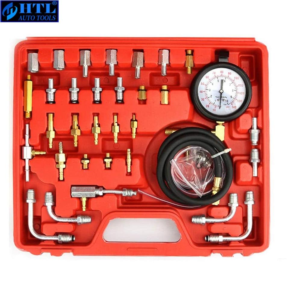 Automotive TU-443 Deluxe Manometer Fuel Pressure Gauge Engine Testing Kit Fuel