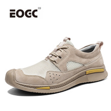 Genuine Leather Men Casual Shoes Retro Lace Up Sneakers Male Handmade Low-Top Men Shoes British Style Outdoor Shoes Men g n shi jia black genuine leather upper rubber outsole men s leisure shoes sewing soft outdoor retro male casual shoes 888330