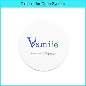 super translucency 98mm 3D-PLUS Pro Multilayer dental zirconia blocks Vita 16 shades and Bleach for open CADCAM system