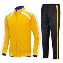 Мужская спортивная одежда, однотонная дышащая флисовая куртка с длинными рукавами для бега, мужская спортивная одежда, бег Футбол баскетбольный костюм