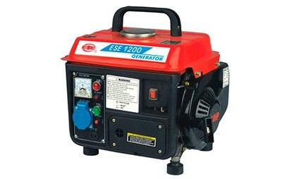 portatil 220v avaliou 600 watts maximo 800 watts gerador de gasolina miniatura do agregado familiar com