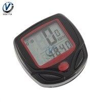 Velocímetro resistente al agua para bicicleta, pantalla Digital LCD, odómetro, Ordenador de ciclismo, velocímetro, odómetro, medidor de código