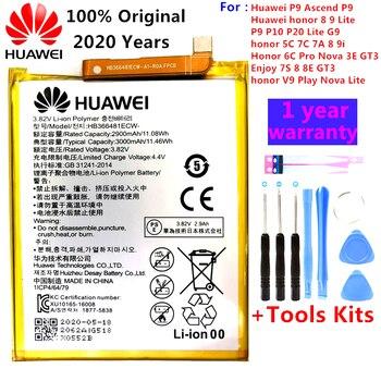 Hua+Wei+100%25+original+r%C3%A9el+3000mAh+HB366481ECW+batterie+pour+Huawei+P+Smart+5.6+%22FIG-LX1+FIG-LA1+FIG-LX2+batterie+%2B+outil+FIG-LX3