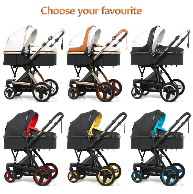 luxury baby stroller 3 in 1 (6)
