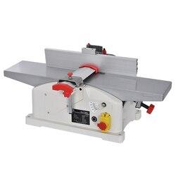 JJP-5015 wielu funkcjonalny stół strugarki do strugarki elektrycznej do obróbki drewna ławki strugarka narzędzie płaskie strugarka do drewna 220V 1280W 9000r/min
