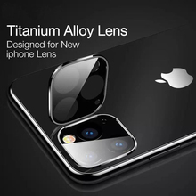 Back Camera Lens Titanium alloy Tempered Glass For iPhone Xi Max xir Film Explosion-proof 11 Pro