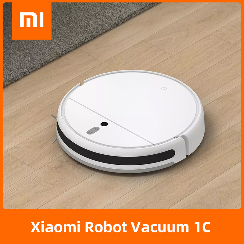 XIAOMI Sweeping Mopping Robot MIJIA Mi Vacuum Cleaner 1C for Home Auto Dust Sterilize 2500PA Cyclone Suction Smart Planned WiFi