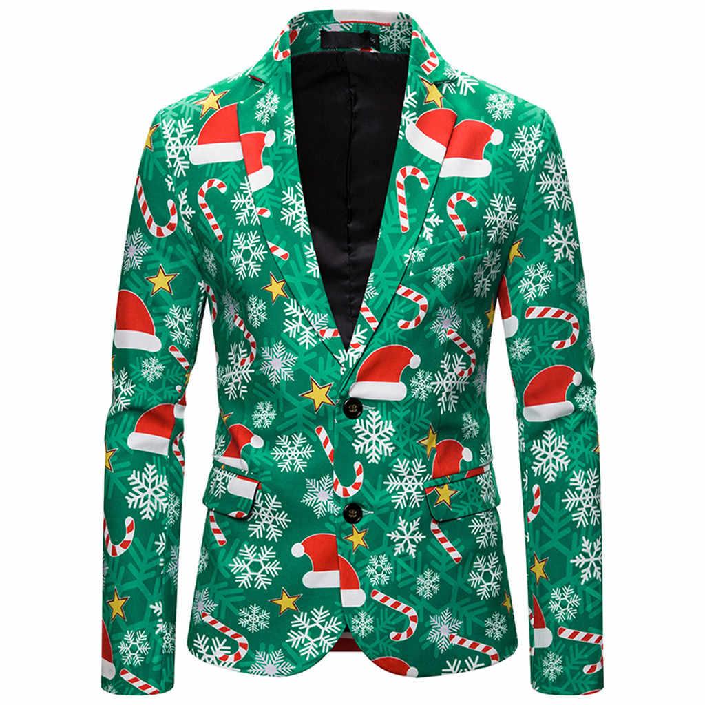 2019 chaquetas de otoño para hombre chaquetas de Navidad de