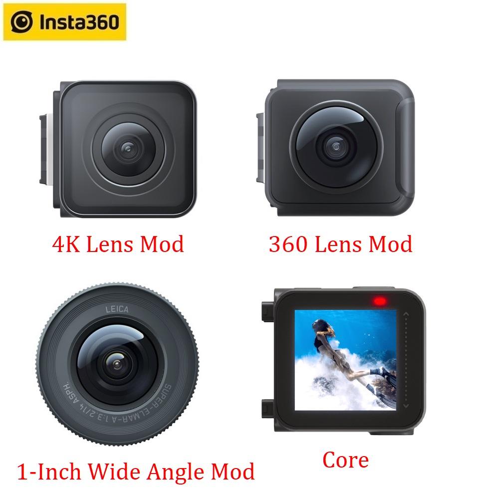 Insta360 One R Lens Mods 4K 360 1 Inch LEICA Lens  Core Accessories