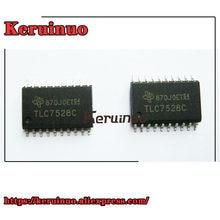 Tube SOIC double 8 bits, 50 pièces/lot, TLC7528C TLC7528, MLTPLY DAC 20SOP DAC 2-CH R-2R 8 bits 20 broches