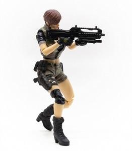 Image 2 - JOYTOY 1/18 action figure frauen soldat in spiel Cross Fire (CF) anime weibliche zahlen Kostenloser versand