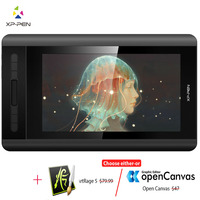 XP Pen Artist 12 Graphic tablet Drawing Tablet Graphic Monitor Animation Digital 1920 X 1080HD IPS Shortcut Keys and Touch Pad