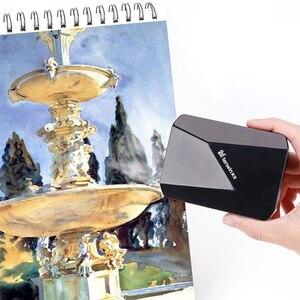 Image 1 - Tenwin cor sem fio secador de ar secador de desenho arte estudante exame sopro pintura aquarela secagem rápida desktop pequeno ventilador ms5700