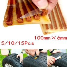 Motorcycle Tubeless Repair-Tools Tyre-Wheels Strip Rubber Tire Puncture Auto 5/10/20/50pcs