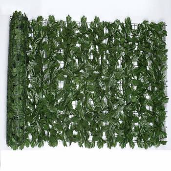 2019  Newly   1*3m Artificial Ivy Leaf Hedge Panels Screening Green Plastic Fence  Sweet Potato Leaves