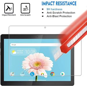 Para lenovo tab m10 TB-X605F/TB-X505 10.1 polegadas-9h premium tablet claro protetor de tela de vidro temperado filme protetor capa