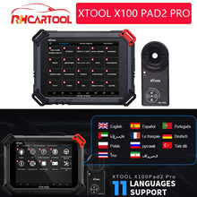 XTOOL X100PAD X100PAD2 X100 PAD2 PRO narzędzie diagnostyczne OBD2 z 4th5th Immo auto klucz programujący wszystkie funkcje specjalne