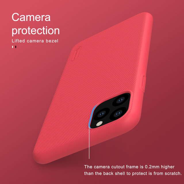For iPhone 11 Pro Max Case Cover NILLKIN Fitted Cases For iPhone 11 Pro High Quality Super Frosted Shield For iPhone 11 5.8 inch 5