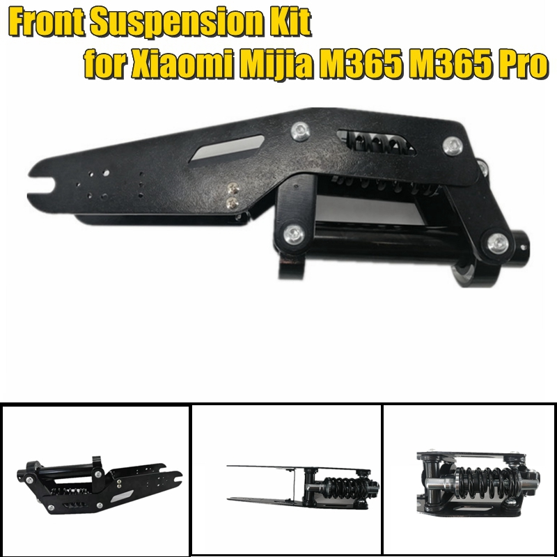 NEW Electric Scooter Front Tube Shock Absorption Part Front Suspension Kit For Xiaomi Mijia M365 Bird MI And M365 Pro
