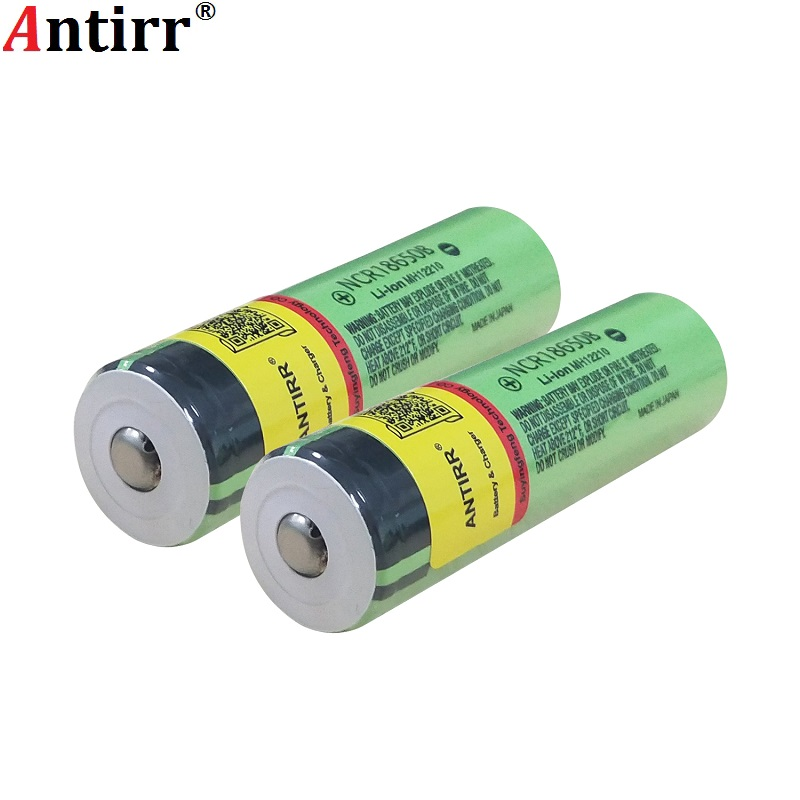 For <font><b>Panasonic</b></font> Original Protected <font><b>18650</b></font> <font><b>NCR18650B</b></font> Rechargeable Li-ion battery 3.7V Without PCB 3400mAh For Flashlight batteries image