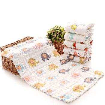 25*45cm 100% gaze baumwolle baby taschentuch quadrat handtuch musselin baumwolle infant handtuch wischen tuch Beschwichtigen Handtuch 2019